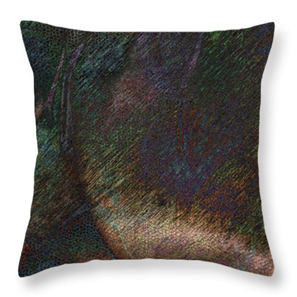 Agglomeration Throw Pillow by James Barnes