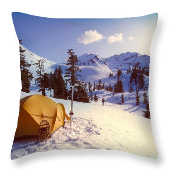 Alaska, Admiralty Island Throw Pillow by John Hyde - Printscapes