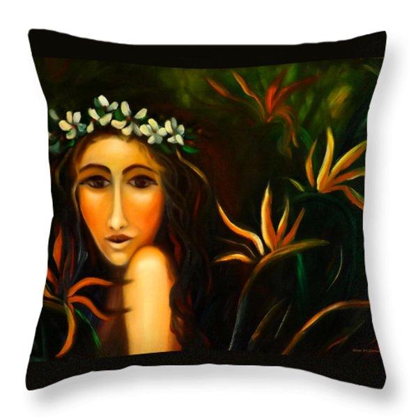 All That Throw Pillow by Gina De Gorna