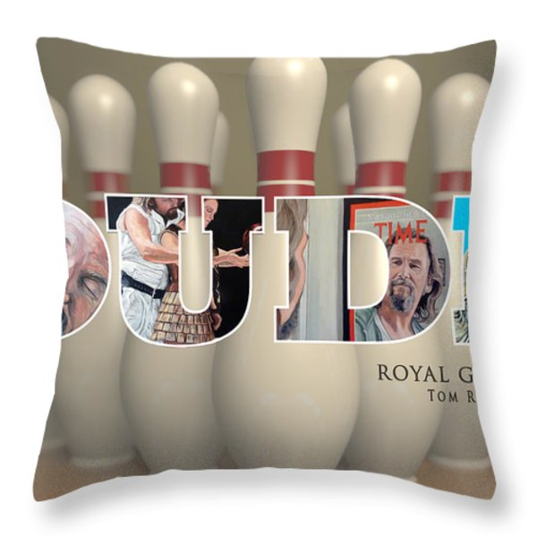 All The Way Throw Pillow by Tom Roderick