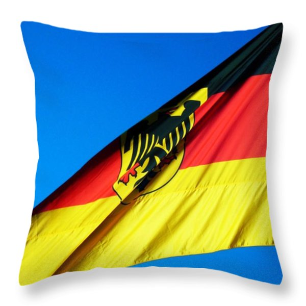 Allemagne ... Throw Pillow by Juergen Weiss