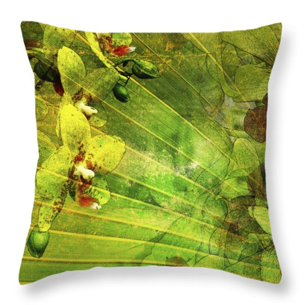 Allure 2 Throw Pillow by Kaypee Soh - Printscapes
