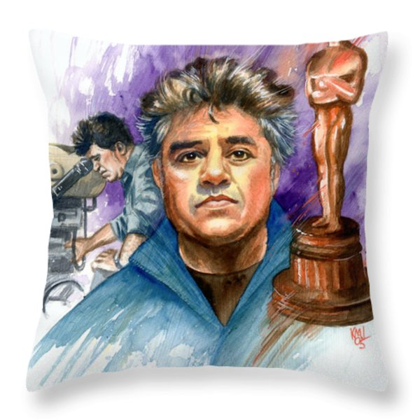 Almodovar Throw Pillow by Ken Meyer jr