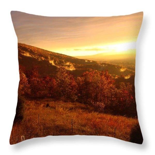 Always Heaven Throw Pillow by Steven Lebron Langston