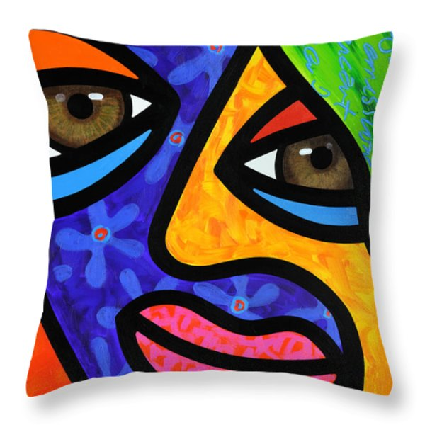 Aly Alee Throw Pillow by Steven Scott
