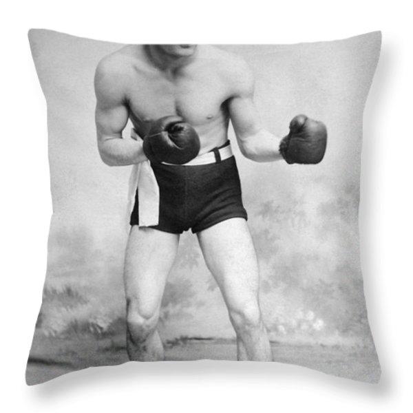 American Boxer, C1912 Throw Pillow by Granger