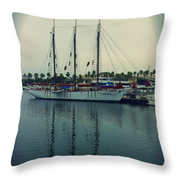 American Pride Throw Pillow by Heidi Smith