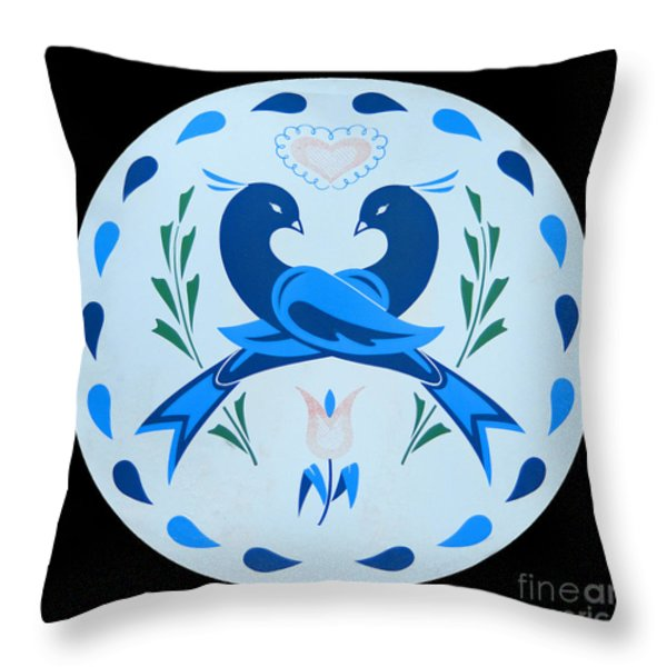 Amish Hex Design Throw Pillow by Paul W Faust -  Impressions of Light