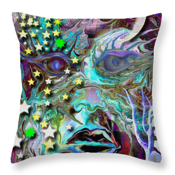 Ancient Knowledge Throw Pillow by Mimulux patricia no