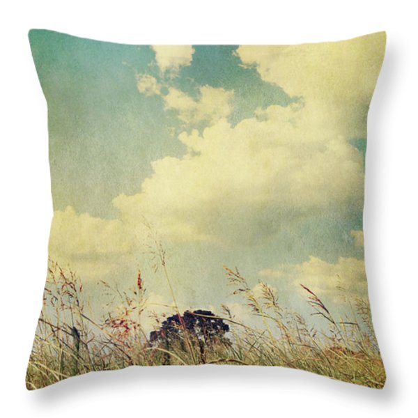 And The Livin's Easy Throw Pillow by Laurie Search