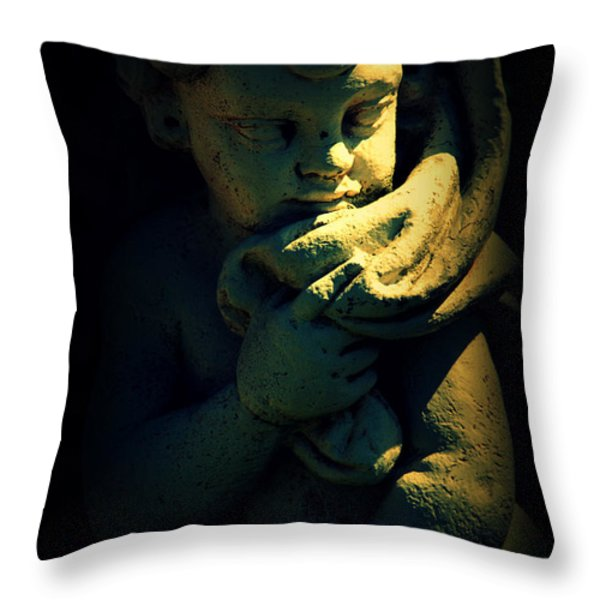 Angela Throw Pillow by Susanne Van Hulst