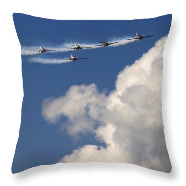 Angels Throw Pillow by Angel  Tarantella