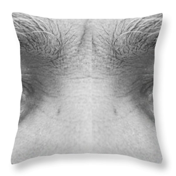 Angry Eyes Throw Pillow by James BO  Insogna