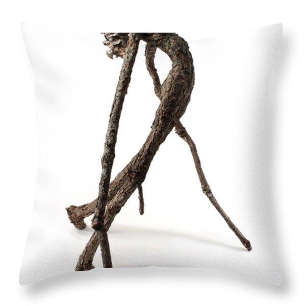 Anguish Throw Pillow by Adam Long