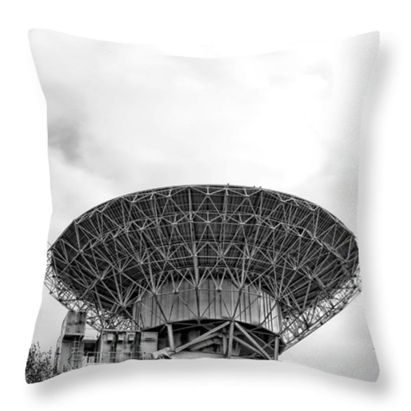 Antenna   Throw Pillow by Olivier Le Queinec