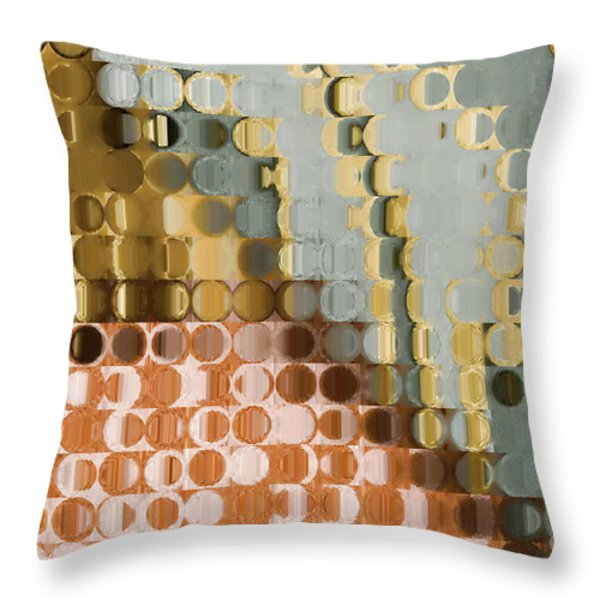 Anticipate Throw Pillow by Mark Lawrence
