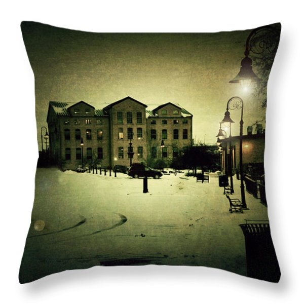 Appleton Waterfront Throw Pillow by Joel Witmeyer