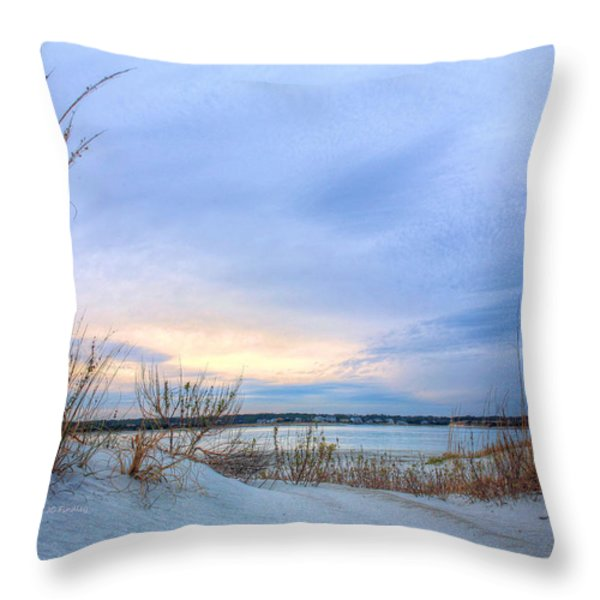Approaching Storm Throw Pillow by JC Findley