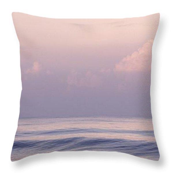 Arabian Sea, Kerala, India Throw Pillow by Keith Levit
