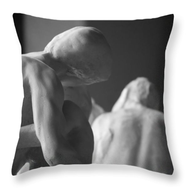 Arch Throw Pillow by Nathan Larson
