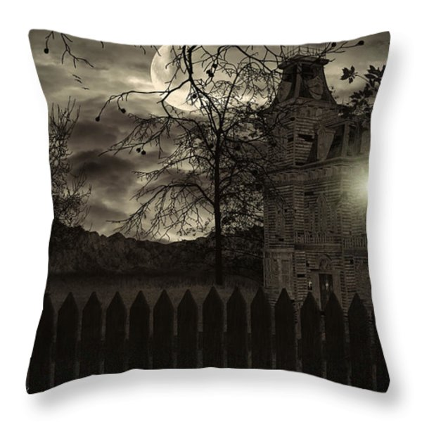 Arrival Throw Pillow by Lourry Legarde