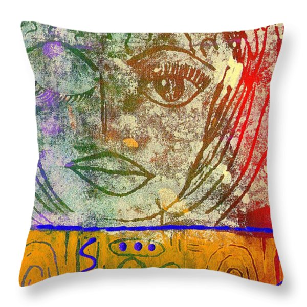 ART   Always Remember Truth Throw Pillow by Angela L Walker