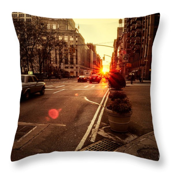 As it does.. Throw Pillow by John Farnan