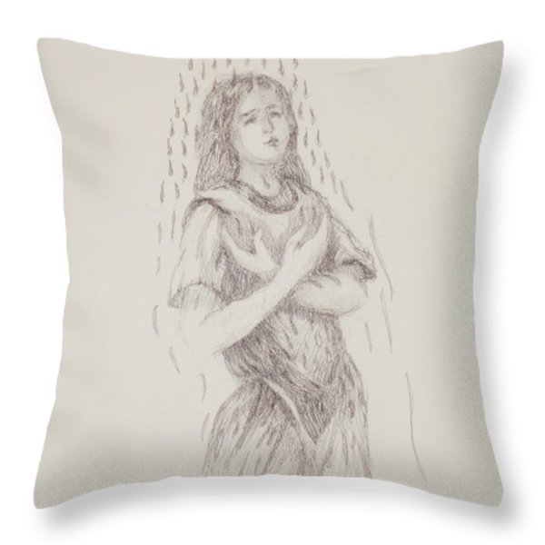 At One Throw Pillow by Bruce Zboray