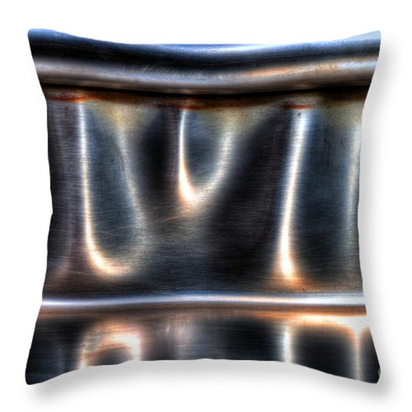 At The Bend Throw Pillow by Michael Garyet