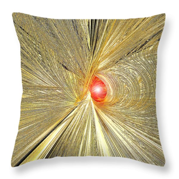 At The End Of The Tunnel Throw Pillow by Michael Durst