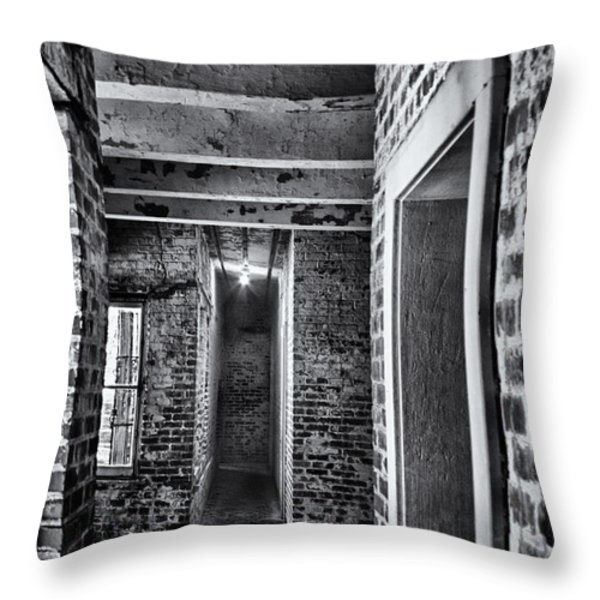 Atalaya Castle 5 Throw Pillow by Roger Wedegis
