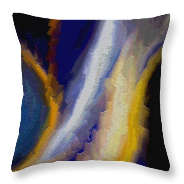Atlantis Throw Pillow by Ely Arsha