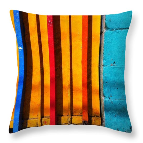 Attraction Throw Pillow by Skip Hunt