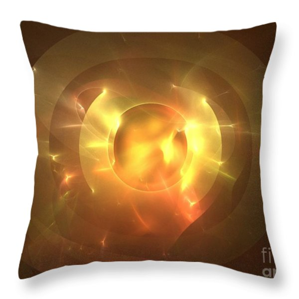 Auge Throw Pillow by Kim Sy Ok