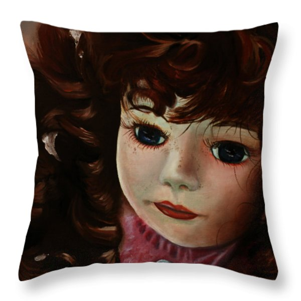 Autumn Throw Pillow by Jane Autry