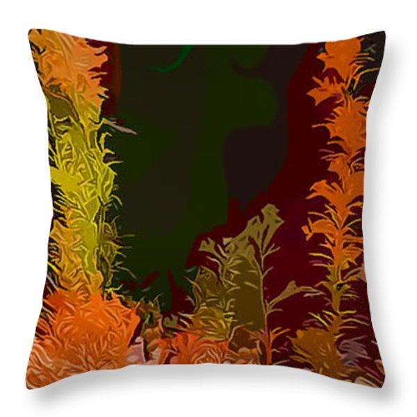Autumn Pastel Throw Pillow by Tom Prendergast