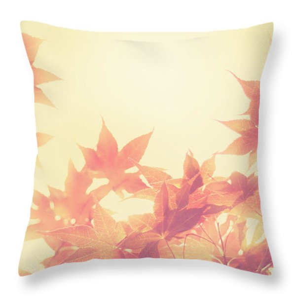 Autumn Sky Throw Pillow by Amy Tyler