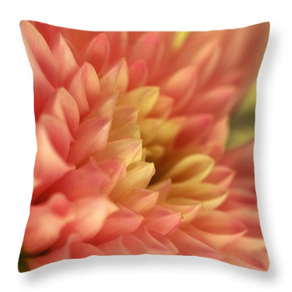 Awakened Throw Pillow by Kathy Yates