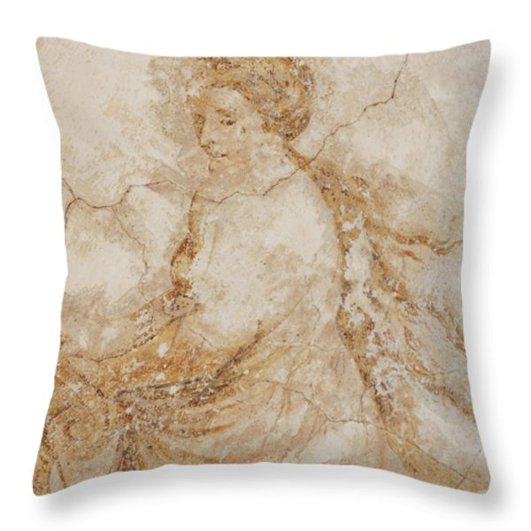 baroque mural painting Throw Pillow by Michal Boubin