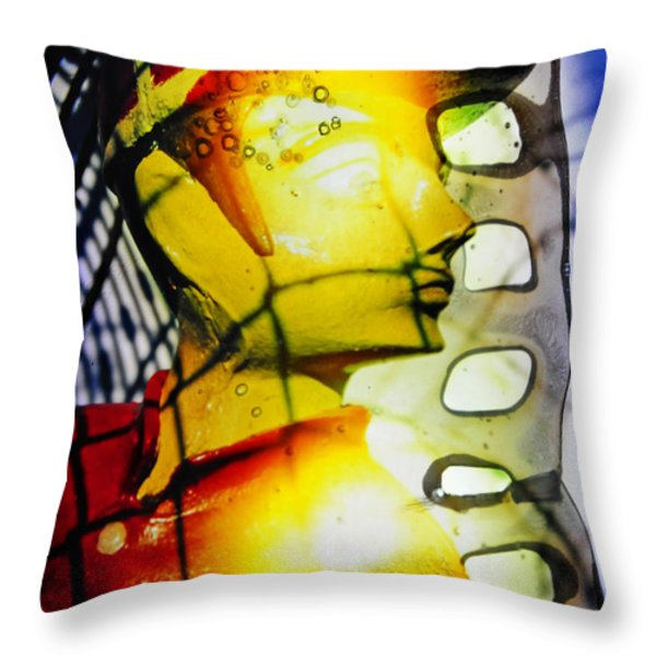 Baseball You Bet Throw Pillow by Skip Hunt