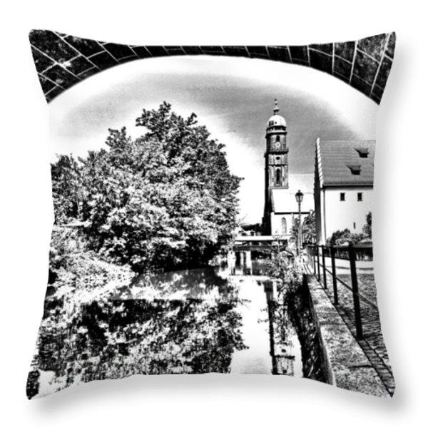 Basilika St. Martin  Throw Pillow by Juergen Weiss