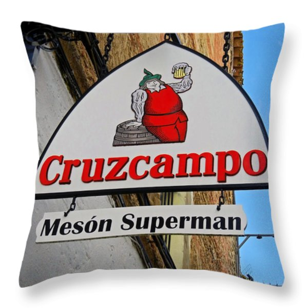 Be Welcome ... Throw Pillow by Juergen Weiss