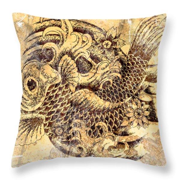 Beautiful Struggle Throw Pillow by Maria Arango