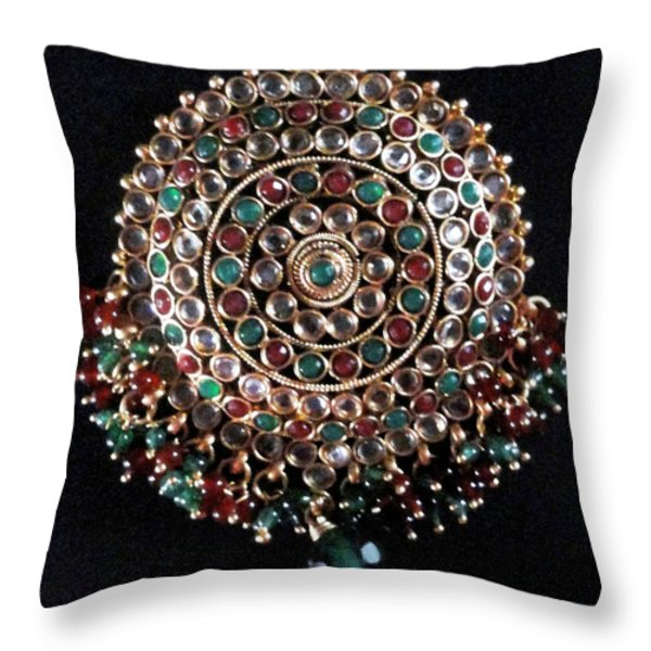Beauty Throw Pillow by Harsh Malik
