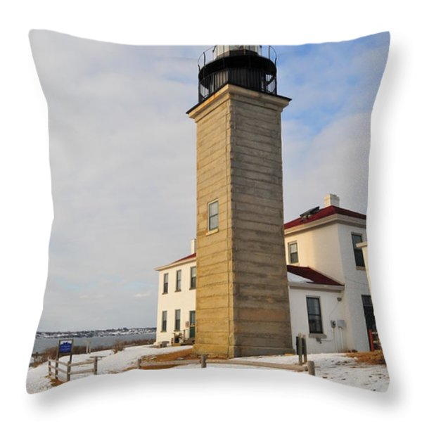 Beavertail Light Throw Pillow by Catherine Reusch  Daley