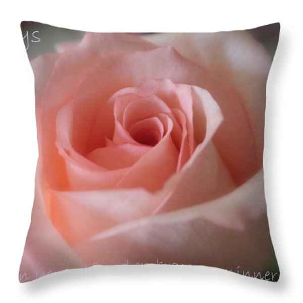 Believe in Yourself Card or Poster Throw Pillow by Carol Groenen