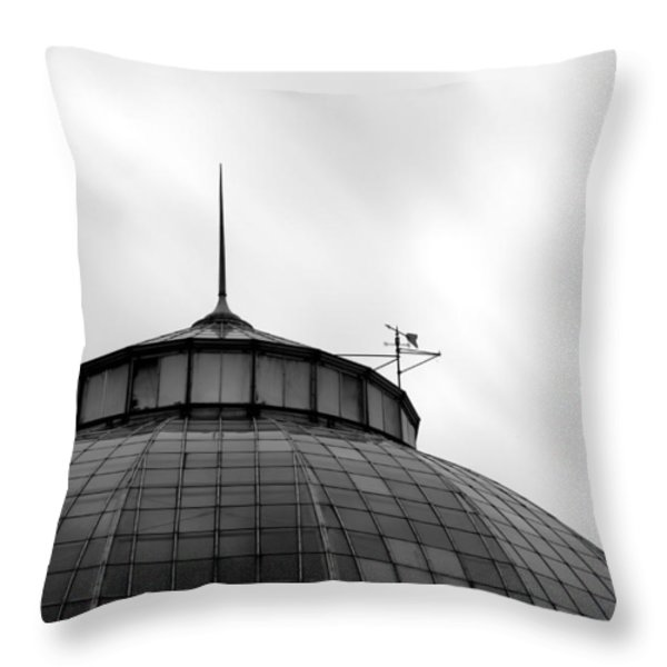 Belle Isle Anna Scripps Whitcomb Conservatory Throw Pillow by Gordon Dean II
