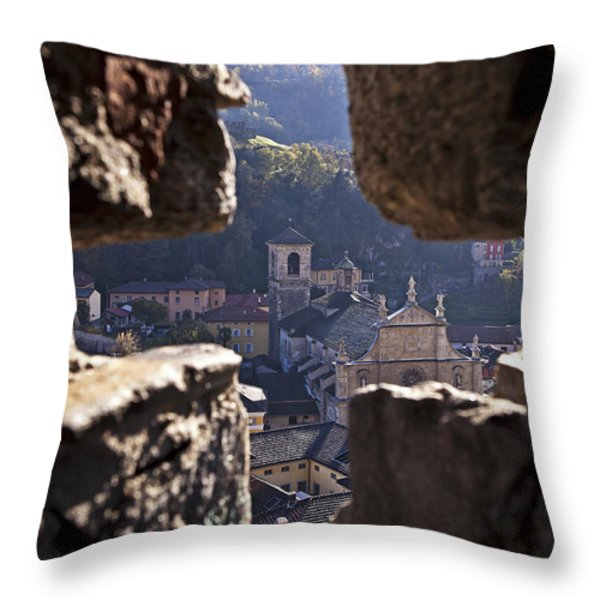 Bellinzona Throw Pillow by Joana Kruse