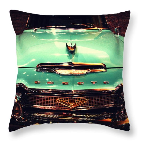 Bello Desoto  Throw Pillow by Susanne Van Hulst