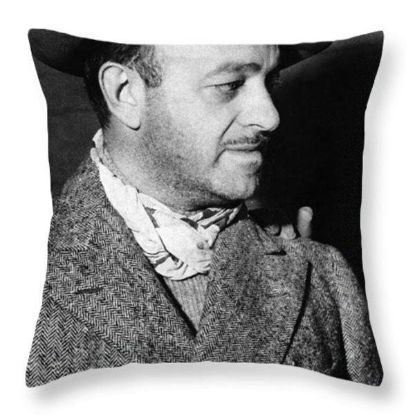 Ben Hecht (1894-1964) Throw Pillow by Granger